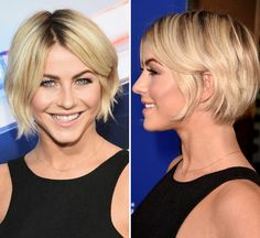Julianne Hough short bob haircut