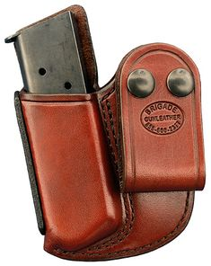 Brigade Holsters- Leather M20C IWB Mag Pouch
