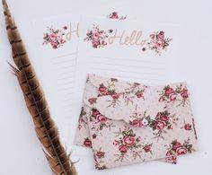 Linen writing paper