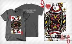 Sig Ep Queen of Hearts Design #sigep #design #shirts