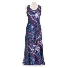 Galaxy Print Maxi Dress - Women's Romantic & Fantasy Inspired Fashions Elizabethan Dress, Bohemian Summer Dresses, Capelet Dress, Unique Clothes For Women, Tiered Dress, Modest Dresses, Pretty Outfits, Pretty Clothes, Unique Fashion