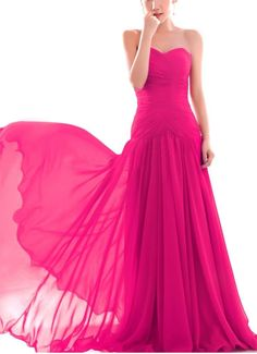Amazon.com: New Formal Prom Bridesmaid Cocktail Party Evening Chiffon Dress US Size 4-18: Clothing