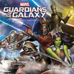 Guardians of the Galaxy Kalender 2017 - Engelsk Version