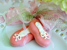 Ballerina Tea Party these cookies were a hit at Lylah ballerina party Ballerina Birthday Parties, Ballerina Party, Little Ballerina, Ballerina Cookies, Angelina Ballerina, Birthday Bash, Shoe Cookies, Fun Cookies, Dance Crafts