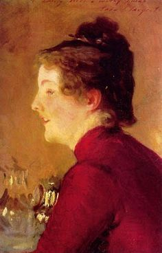 John Singer Sargent (American expatriate artist, 1856-1925) Violet Sargent (1870-1955) 1889