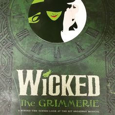 Get your broomsticks girls.. The official companion to the Broadway musical Wicked has history arrived #wickedmusical #witches #broadway #theatre #sueryder #charityshop #sueryderfind #donations