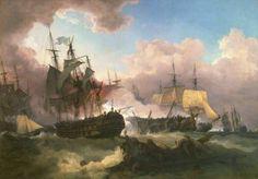 The Battle of Camperdown (1799)