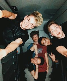 I'm scared that Zach or Corbyn are gonna fall on Dani and Jonah then they are all gonna collapses on top of Jack 😂 😂 ❤️❤️ Zach Herron, Corbyn Besson, Jack Avery, Future Boyfriend, To My Future Husband, Why Dont We Imagines, Why Dont We Band, Jonah Marais, Thing 1