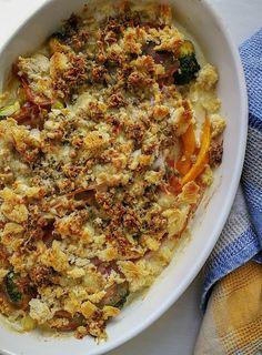 Notburga konyhája: Sonkás sütőtök-brokkoli felfújt Parma, Prosciutto, Macaroni And Cheese, Ethnic Recipes, Food, Essen, Mac And Cheese, Yemek, Meals