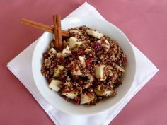 Vanilla & Spice: Cranberry Apple-Cinnamon Quinoa