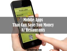 15 Best Apps to Save Money on Dining Out