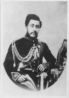 King Lunalilo of Hawai'i, born William Charles Lunalilo (January 1835 – February Hawaiian Monarchy, Native American Heritage Month, Kings Hawaiian, Black Royalty, Polynesian Culture, Black History Facts, America Civil War, Hawaiian Islands, South Pacific