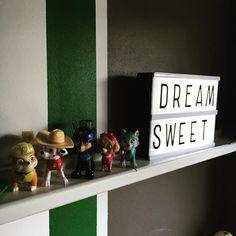 Sweet dreams!  #valaisin #lights #night #ryhmähau #pawpatrol #lastenhuone #kidsroom #barnrum #home #koti #interior #shelfie