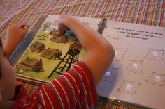 interactive Book of Mormon for Children- print, laminate, cut, done.
