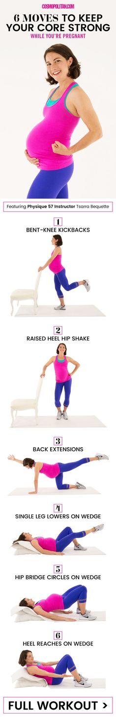 prenatal-core-workout