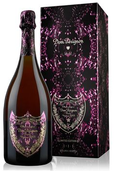 New Year's Eve~Party Time / Dom Perignon Iris van Herpen Rose vintage 2003 champagne Rose Champagne, Champagne Bottles, Champagne Toast, Whisky, Wine Drinks, Alcoholic Drinks, Don Perignon, Iris Van Herpen, Rose Gift