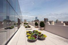 Skyloft пентхаус в Tribeca, Нью-Йорк