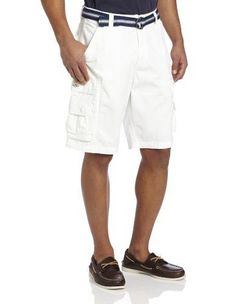 Lee Men's Cargo Short Dungarees Belted Wyoming Cargo Short