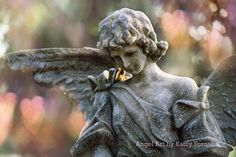 Angel Art Note Card Dreamy Angel Art Photography by KathyFornal, $6.00
