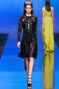 Lingerie-like dresses at Elie Saab Fall 2013 #runway #fashionweek
