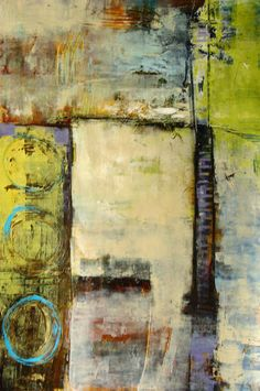 """""""Raw Footage 1"""" by Nancy Ngo #abstract #acrylic"""