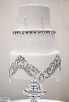 White Cake with Bling |  by TinyCarmen