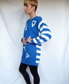 1980s Long Sweater (or shirt) & Leggings