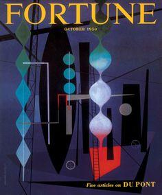 Fortune, October 1950  Illustration and design: Erberto Carboni, art director: Leo Lionni