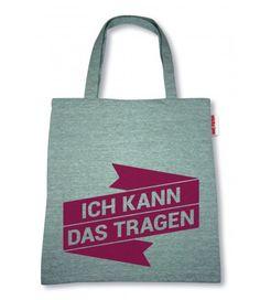 """Sticky Jam Sweet-Shopper """"Ich kann das Tragen"""" Rot Polyester Tasche Einkaufstasche  - 2-flowerpower"""