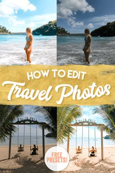 How To Edit Your Travel Photos Like A Pro (For Free! Been eyeballing everyone's perfect travel photos on social media, wondering how they do it? With these tricks you can improve your travel photos in just a few clicks. Backpacking Europe, Belfast, Travel Couple, Family Travel, Travel Advice, Travel Tips, Travel Ideas, Travel Essentials, Travel Necessities