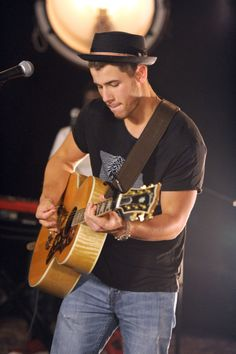 Nick Jonas: he's a musician so that's a plus and I mean just look at him...what a cutie