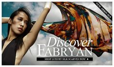 Unique, feminine and alluring organic silk scarfs by luxury label Fabryan, designed and made in UK by fashion designer Samantha-Jane. Fabryan have launched a new range of luxury hand-finished scarves as part of their accessories range.  View Collection> http://www.canyouearme.co.uk/shop/33-fabryan-silk-scarves