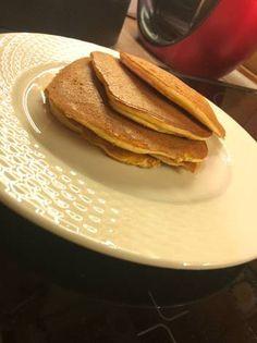 Low Carb Recipes, Vegan Recipes, Pancakes, Paleo, Food And Drink, Gluten, Sugar, Breakfast, Desserts
