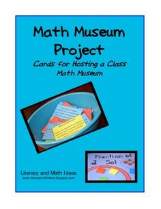 Host a math museum! This fun activity is one way to encourage deep understanding of math concepts as well as get students to reason and model math. Math Classroom, Kindergarten Math, Teaching Math, Classroom Ideas, Elementary Math, Teaching Ideas, Love Math, Fun Math, 8th Grade Math