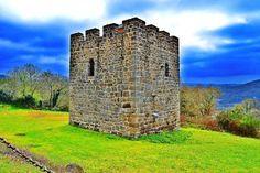 Torre da Candaira en O Saviñao #lugo #turismo #viajar