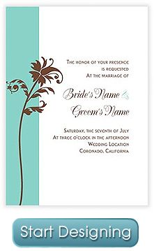 Wedding Invitations & Party Invitations - Design Your Own!