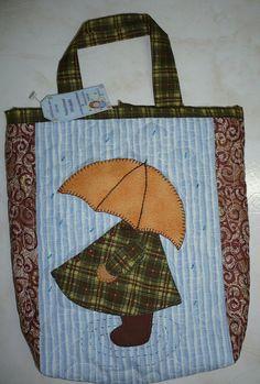 Sunbonnet Sue umbrella pic