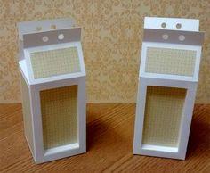 molde caixa milk  com visor silhouette | Agora é a hora de montar as nossas bonequinhas kokeshis em camadas ...
