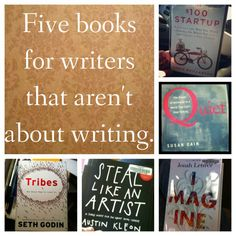"Being a writer is about more than just writing. These books help with the ""more"" part."