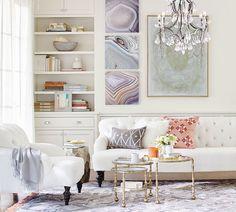 Clara Apartment Sofa | Pottery Barn - we love the idea of this ...