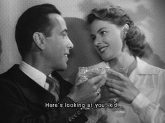 """""""We'll always have Paris.""""  But in the mean time, come see Casablanca, playing September 20th - 26th during Celebrating the Classics Fall Series!"""