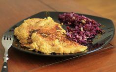 Omelette au tofu soyeux (vegan)
