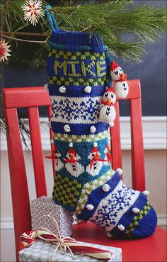 Knit Christmas Stockings from KnitPicks.com Knitting by A default vendor for workflow On Sale