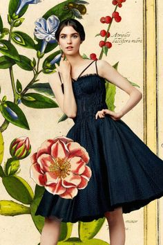 Dolce & Gabbana S-S 14 botanical lookbook 12