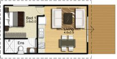 Granny flats on pinterest granny flat kit homes and for Modular granny flat california