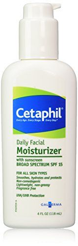 Cetaphil Daily Facial Moisturizer SPF 15 Fragrance Free  4 fl oz >>> You can get more details by clicking on the image.