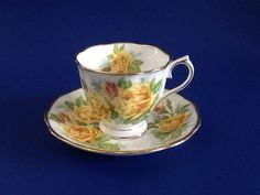 A personal favorite from my Etsy shop https://www.etsy.com/ca/listing/474626815/royal-albert-tea-rose-teacup-and-saucer