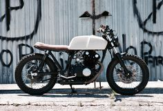 Suzuki GS450 Cafe Racer Street tracker Cape Town South Africa