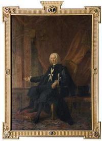 Grand Master Texada by Antoine de Favray (French painter, 1706-1798, active in Malta)