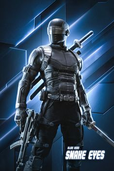 Gi Joe Characters, Comic Book Characters, Comic Character, Character Design, Snake Eyes Gi Joe, Gambit Marvel, Ninja Action Figures, Ninja Art, Storm Shadow
